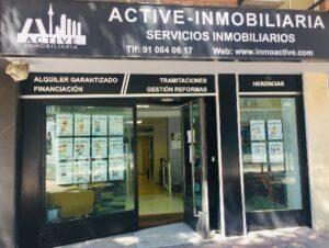 escaparate led de active inmobiliaria